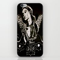 Black (Wings/Angel) iPhone & iPod Skin