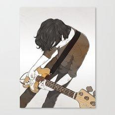 Guitarist Canvas Print