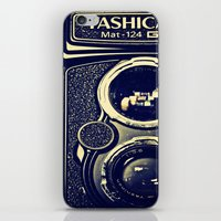 Yashica Cam iPhone & iPod Skin