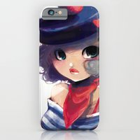 Bisou bisou from Paname iPhone 6 Slim Case
