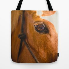 the horse's eye. Tote Bag