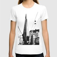 Love San Francisco Womens Fitted Tee White SMALL