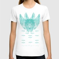 turquoise T-shirts featuring Turquoise by Mary Szulc