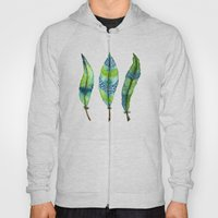 Mystic Sea Feather Trio Hoody