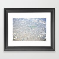 GEOgraphy II Framed Art Print