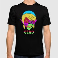 Dead Link Mens Fitted Tee Black SMALL