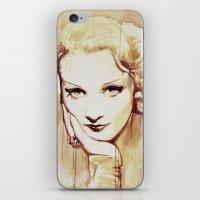 Marlene Dietrich  iPhone & iPod Skin