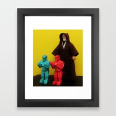 These Are Not The Droids… Framed Art Print