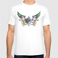 CC EYE Mens Fitted Tee White SMALL