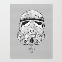 Stormtrooper: Another Dr… Canvas Print