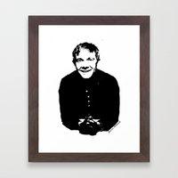 Martin Freeman Framed Art Print