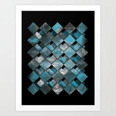 SquareTracts Art Print