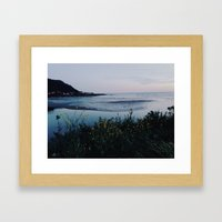 Yachats, Oregon Framed Art Print