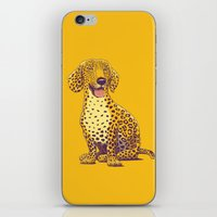 Take a Woof on the Wild Side! iPhone & iPod Skin