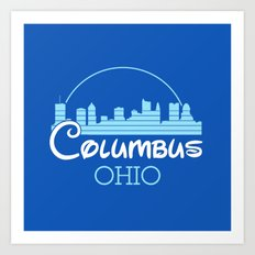 Columbus, Ohio Art Print
