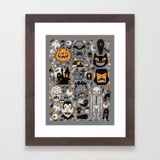 Halloween Spooktacular Framed Art Print