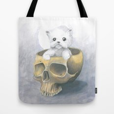 i ated all the brains Tote Bag