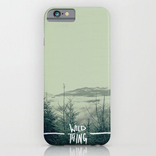 Wild Thing: Skagit Valley, Washington iPhone & iPod Case