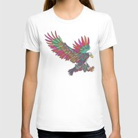 American Eagle Womens Fitted Tee White SMALL