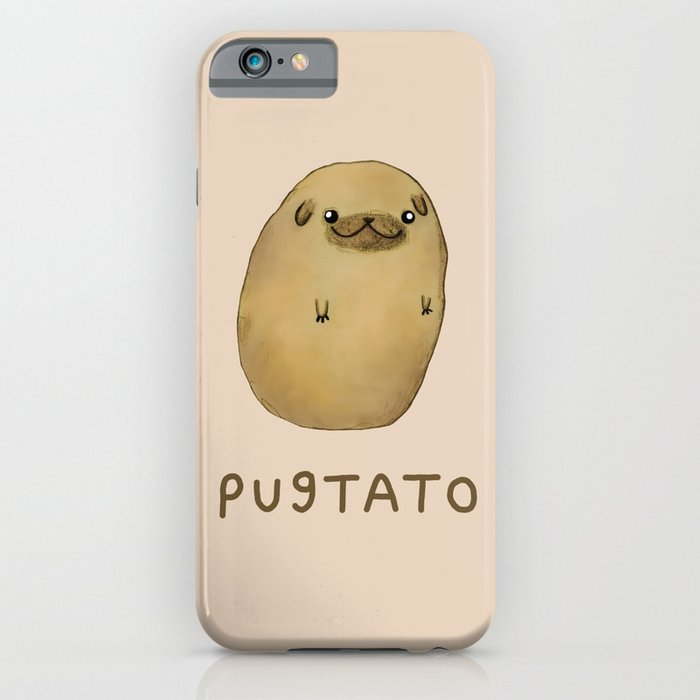Pugtato iPhone u0026 iPod Case by Sophie Corrigan : Society6