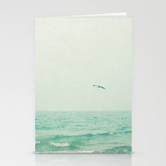 Lone Bird Stationery Card