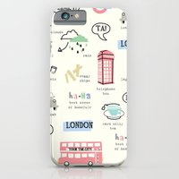 iPhone & iPod Case featuring Tour Of London by shiny orange dreams