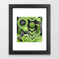 Strike Out! Framed Art Print