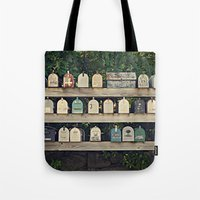 Mailboxes Tote Bag
