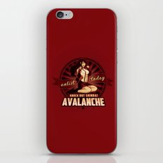 AVALANCHE Wants YOU! iPhone & iPod Skin
