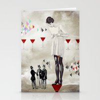 Women Thoughts Stationery Cards