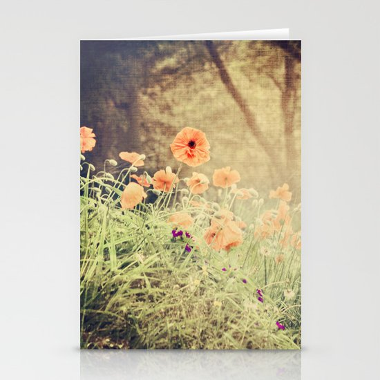 Orange pop Stationery Card