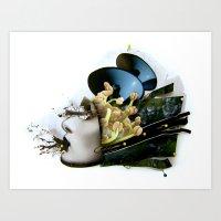 AiVee Portrait | Collage Art Print