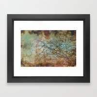For the love of trees - textured photography Framed Art Print