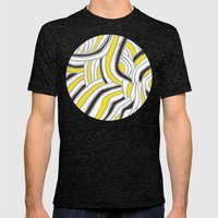 Circle Series #4 Mens Fitted Tee Tri-Black SMALL