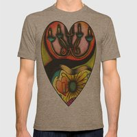 Happy Valentine's Day :) Mens Fitted Tee Tri-Coffee SMALL