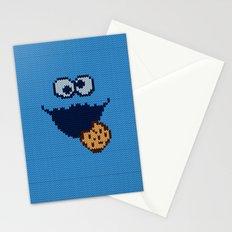 monster 'nom nom' knit Stationery Cards