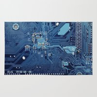 Electronic circuit board Rug