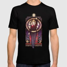 Bad Wolf Mens Fitted Tee Black SMALL