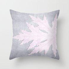 PRESSED LEAF Throw Pillow