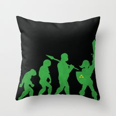 Missing Link Throw Pillow