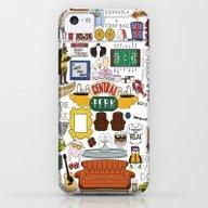 Collage iPhone 5c Slim Case