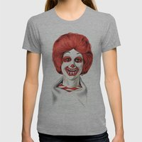 Dia De Los McMuertos Womens Fitted Tee Athletic Grey SMALL