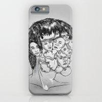 Face Lock BW iPhone 6 Slim Case