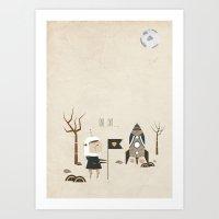 One Day... Art Print