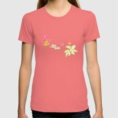Une souris verte Womens Fitted Tee Pomegranate SMALL