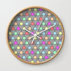 Careless Woman Pattern V2 Wall Clock