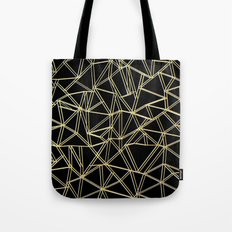 Ab Gold and Silver Tote Bag