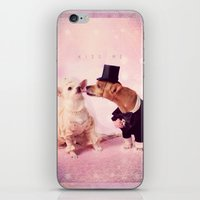 Kiss me - for iphone iPhone & iPod Skin