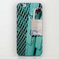 Behind Locked Gates iPhone & iPod Skin
