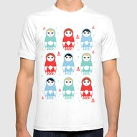 All Yours, Babooshka Mens Fitted Tee White SMALL